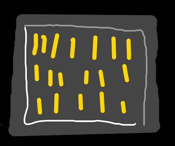 Organised fries