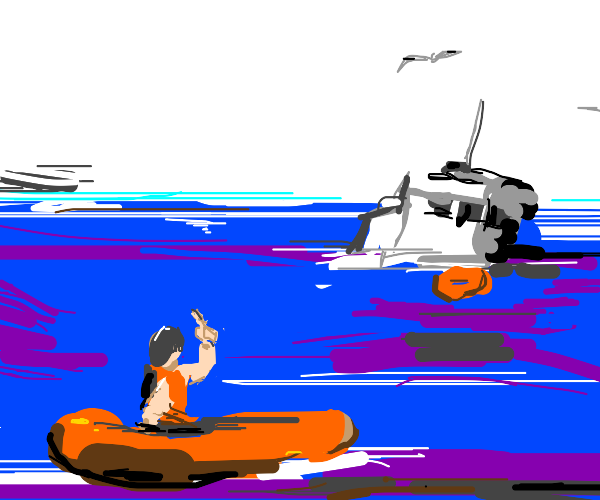 I hate you, boat!