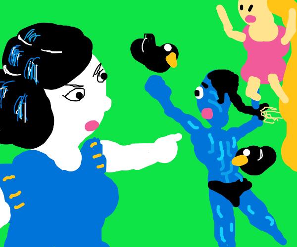 Avatar x Disney Princesses