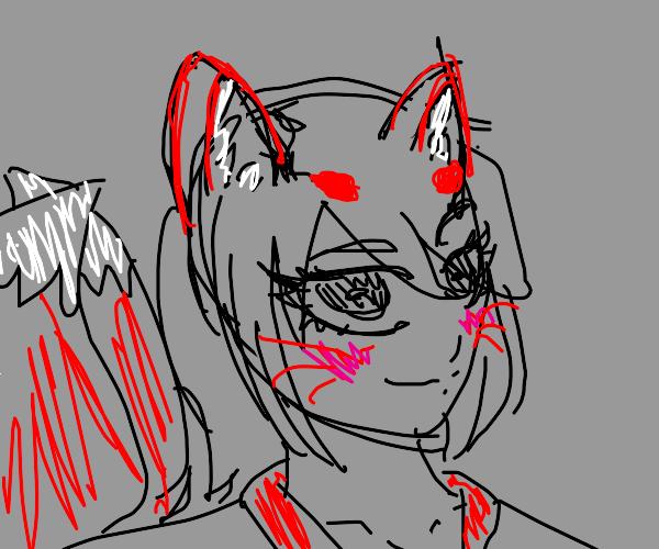 Kitsune Smirk