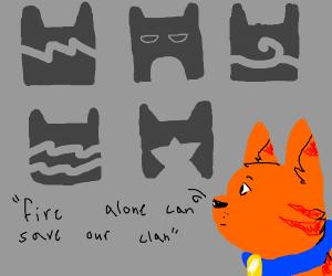 Warrior Cat Clans