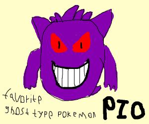favorite ghost type pokemon PIO