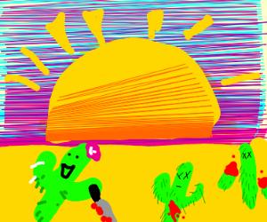 Homicidal cactus