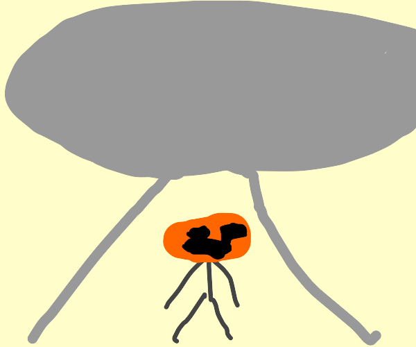 Pumpkin aliens
