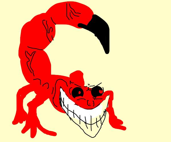 the scorpion wants ur soul!
