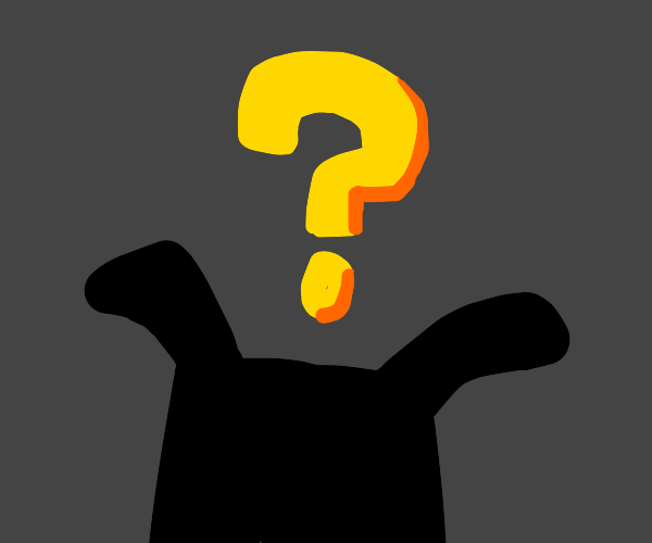 Question mark coming out of black box