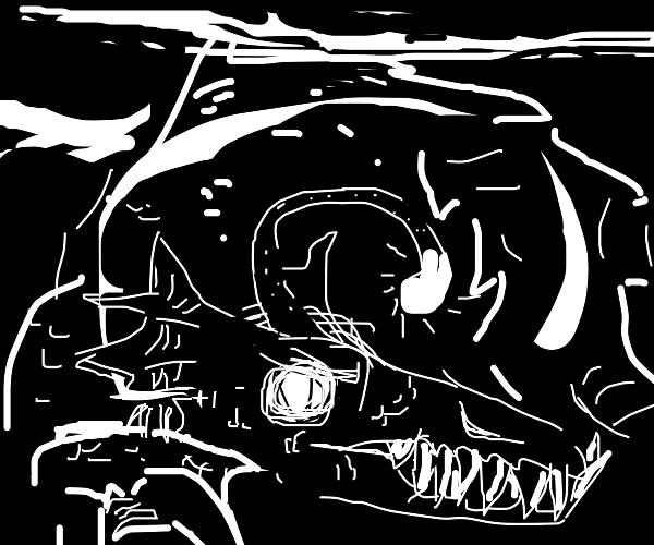 Deep-sea leviathan