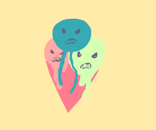 icecream is mad at you