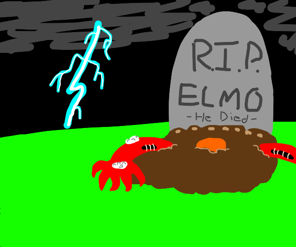 Elmo rises from death