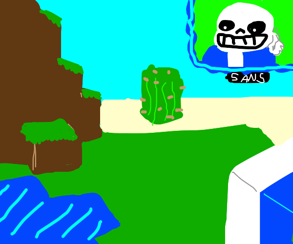 Sans Has A Minecraft Lets Play