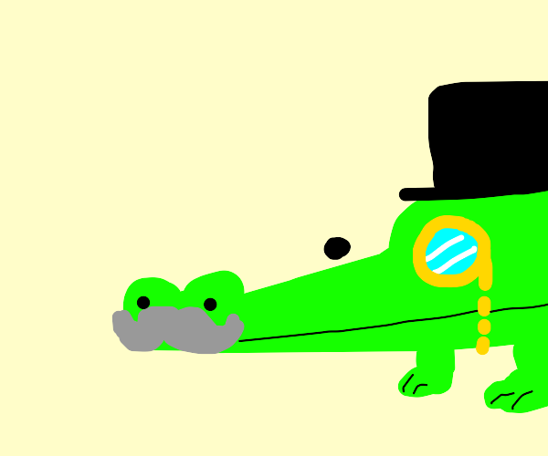 Fancy Alligator