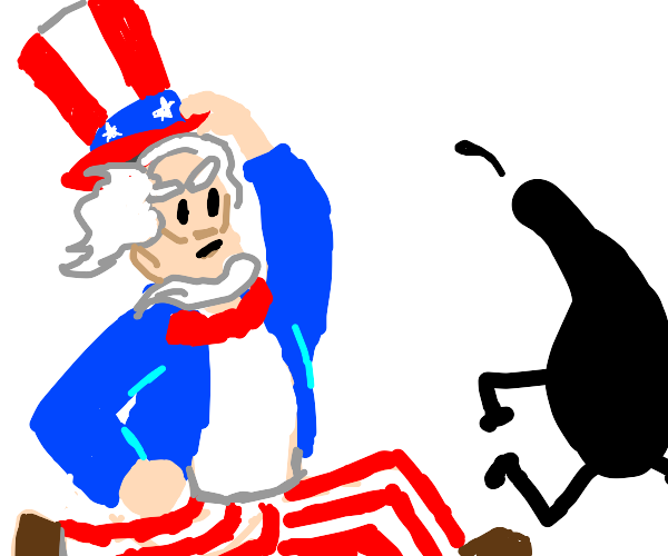 Evil America chasing after oil