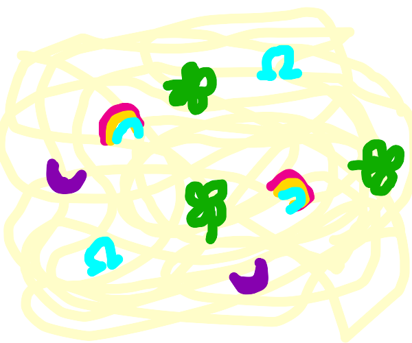 Luck Charms Spaghetti