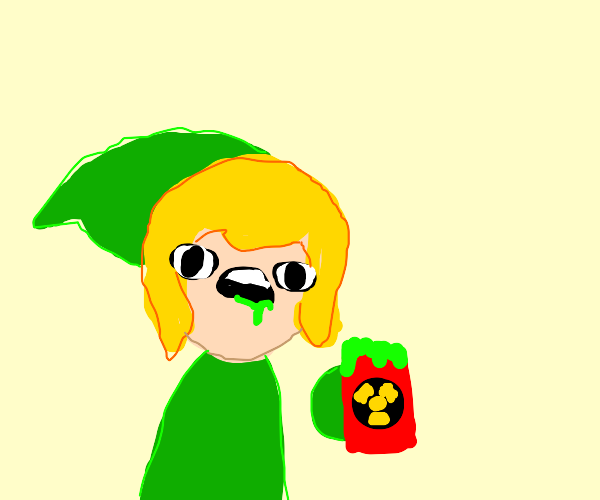 Link eats nuclear-waste