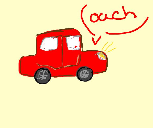 Injured Car
