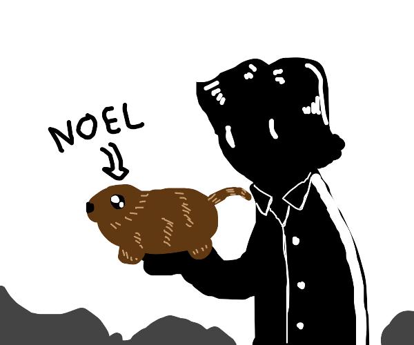 Nameless guy has a pet gerbil named Noel