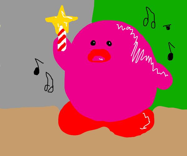 Kirb singing