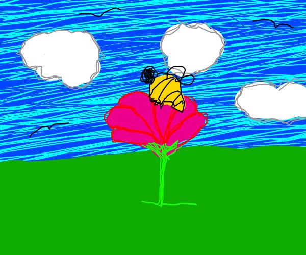 bumblebee in flower