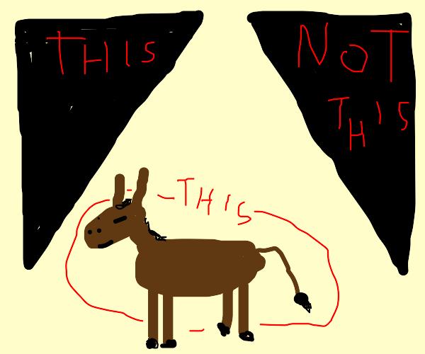 Right Triangle Donkey