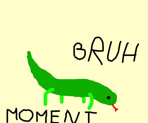 Epic bruh lizard