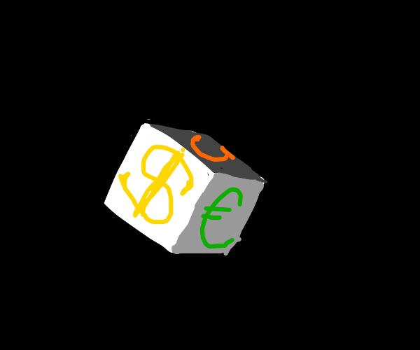 dollar trading dice