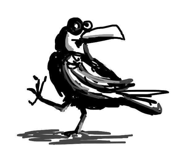 Surreal Crow