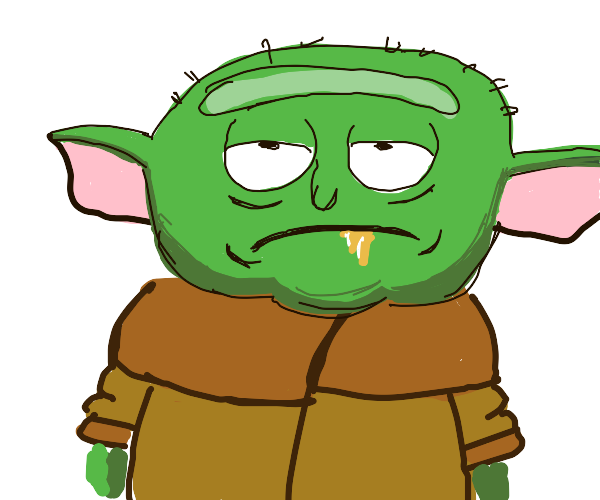 Rick become yoda