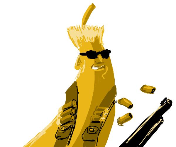 Nuke nukem, but a bananna