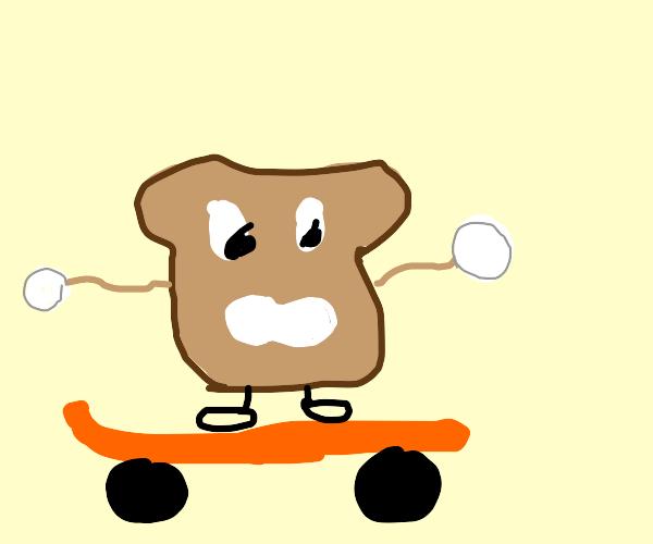 skating bread