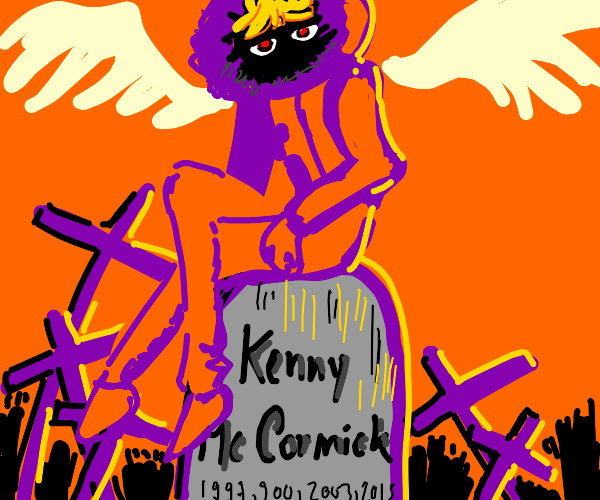 kenny mccormick dies and becomes an angel