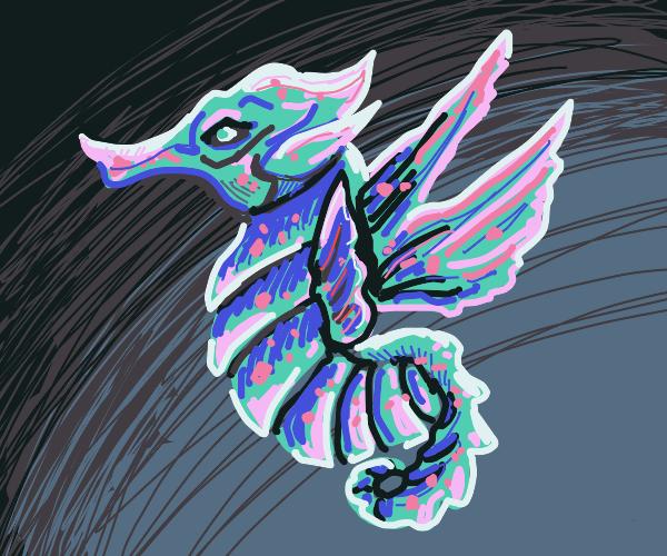 Angelic Seahorse