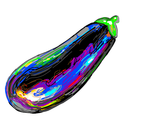 shiny eggplant