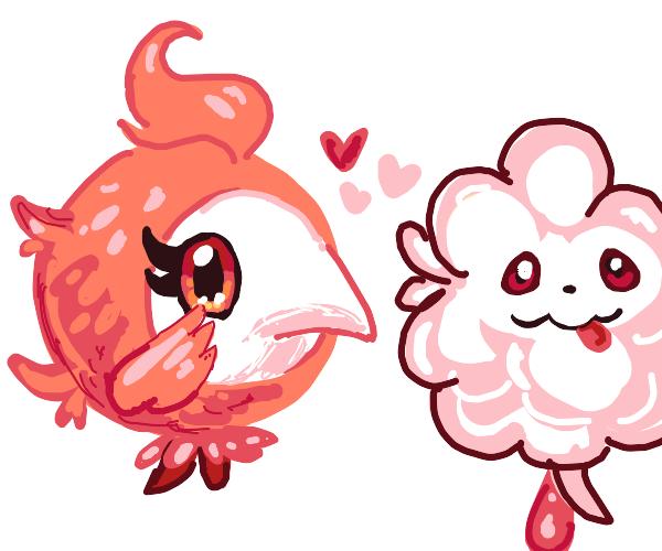 Swirlix and Spritzee pokemon