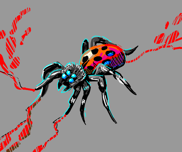Ladybug Spider Cross Breed of Dooooom!