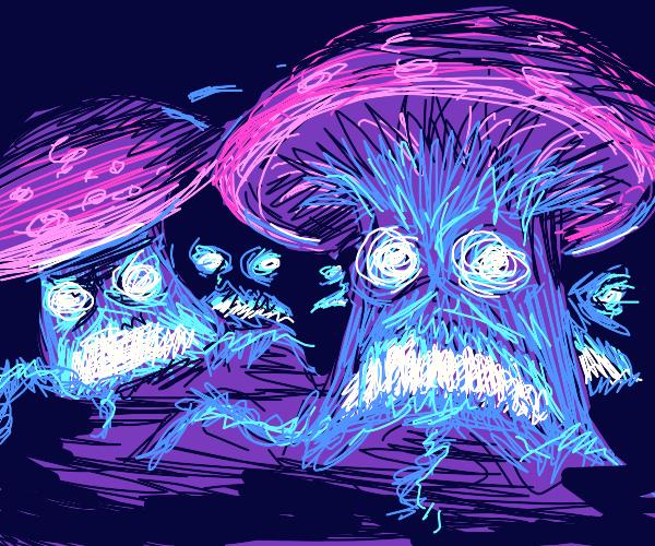 Attack of the Mushroom!