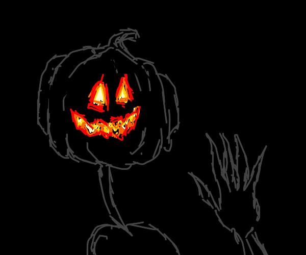 An Evil Pumpkin