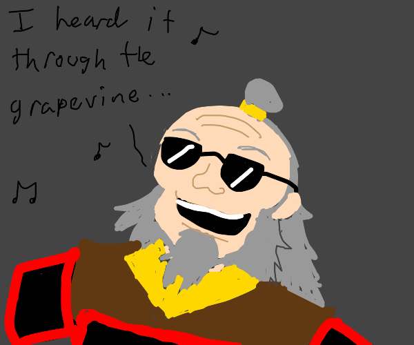 iroh sings about grapevines