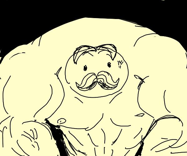 Buff Pringles man