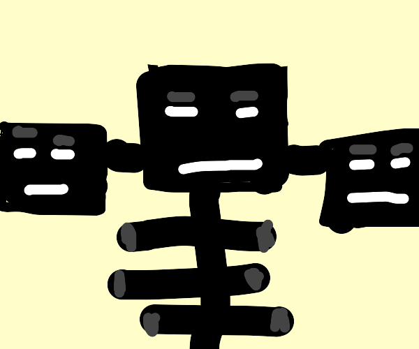 Wither from Minecraft