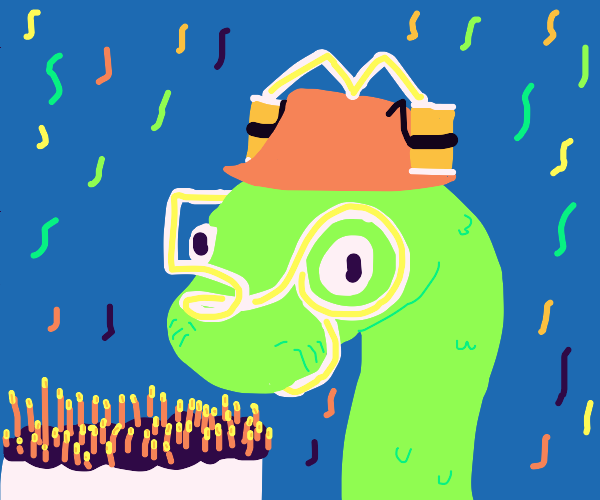 its a snake birthday party!