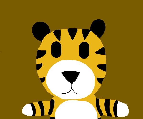 cute tiger face