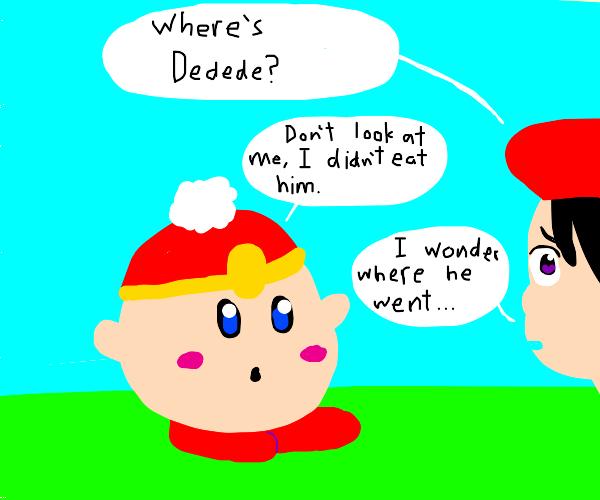 She believed, Kirby lied