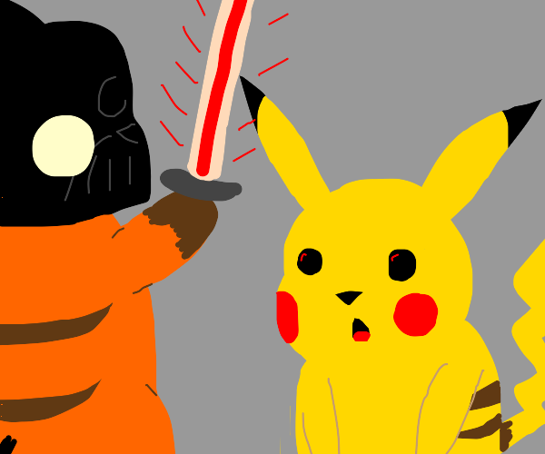 """No. I am your father!"" - Surprised Pikachu"
