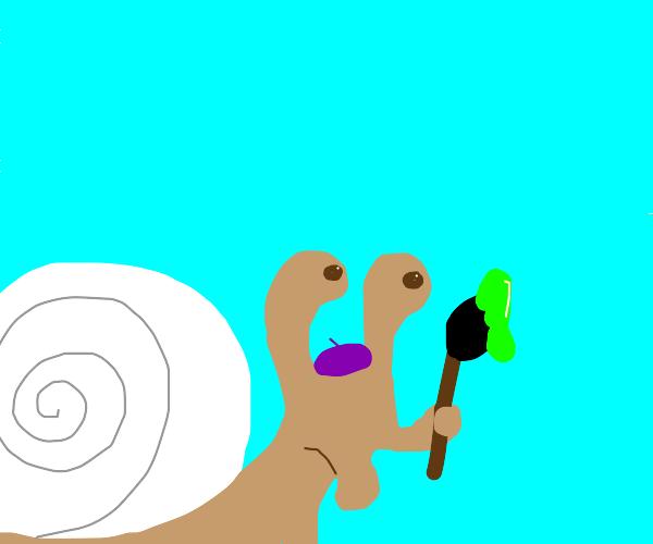 Snail the Artist