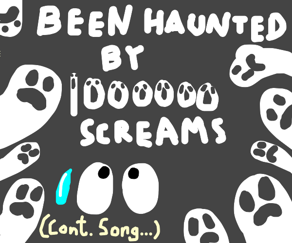 I must've dreamed 1000 dreams(cont. song)