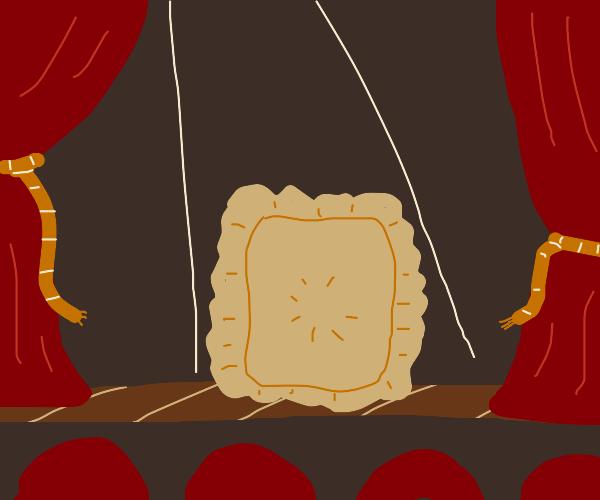 Dramatic ravioli