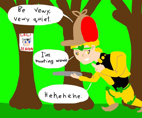 Dio the loli hunter