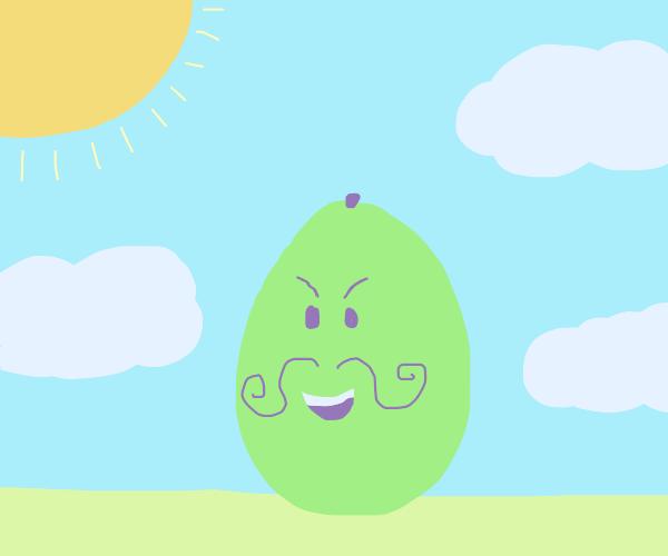 Evil avocado?