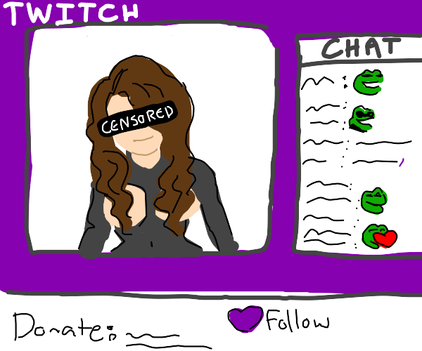 Twitch censors eyes