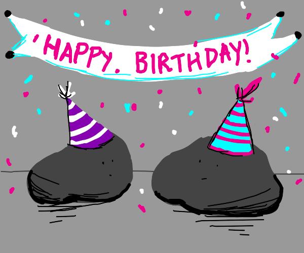 Happy Birthday Rocks!